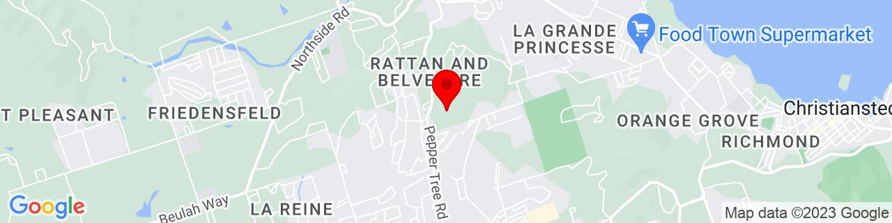 Google Map of 17.7462244, -64.7518041