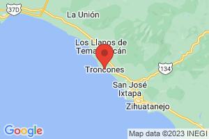 Map of Troncones