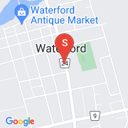 Road Map of 170 MAIN Street South, Waterford, Ontario