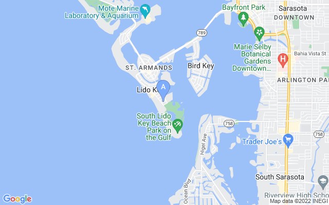170 Roosevelt Dr #14 Sarasota Florida 34236 locatior map
