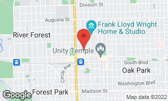 Map of 170 North Marion Street #10 OAK PARK, IL 60301