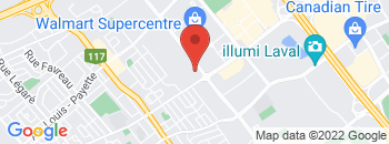 Google Map of 1700+Blvd+Chomedey%2CLaval%2CQuebec+H7T+2W3
