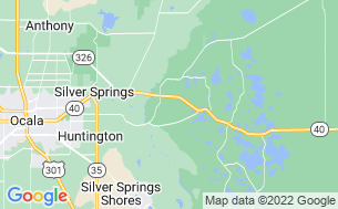 Map of Whispering Pines RV Park