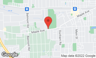 Map of 1700 Maple Avenue DOWNERS GROVE, IL 60515