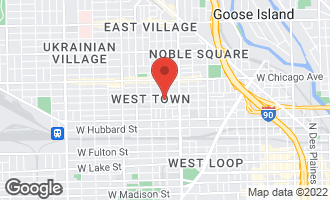 Map of 1700 West Erie Street CHICAGO, IL 60622