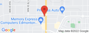 Google Map of 17007-111+Ave%2CEdmonton%2CAlberta+T5S+0J5