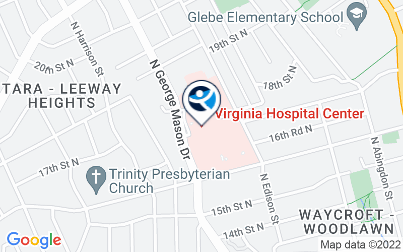 Virginia Hospital Center Location and Directions
