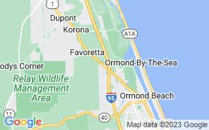 Map of Sunshine Holiday Daytona