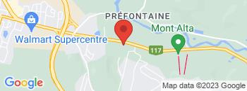 Google Map of 1701+rue+Principale+Est%2CSainte-Agathe-Des-Monts%2CQuebec+J8C+1M1