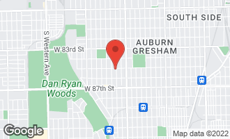 Map of 1701 West 85th Street CHICAGO, IL 60620