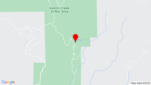 Google Map of 17010 Armstrong Woods Road, Guerneville, CA 95446