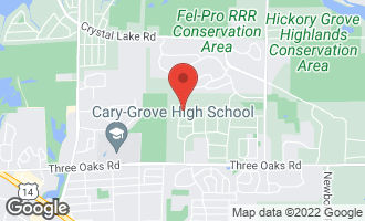 Map of 1703 Mink Trail CARY, IL 60013