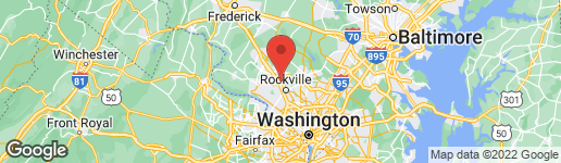 Map of 1703 PICCARD DRIVE ROCKVILLE, MD 20850