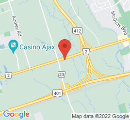 Google Map of 1705+Dundas+Street+West%2CWhitby%2COntario+L1P+1Y9