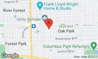 Map of 171 South Oak Park Avenue OAK PARK, IL 60302