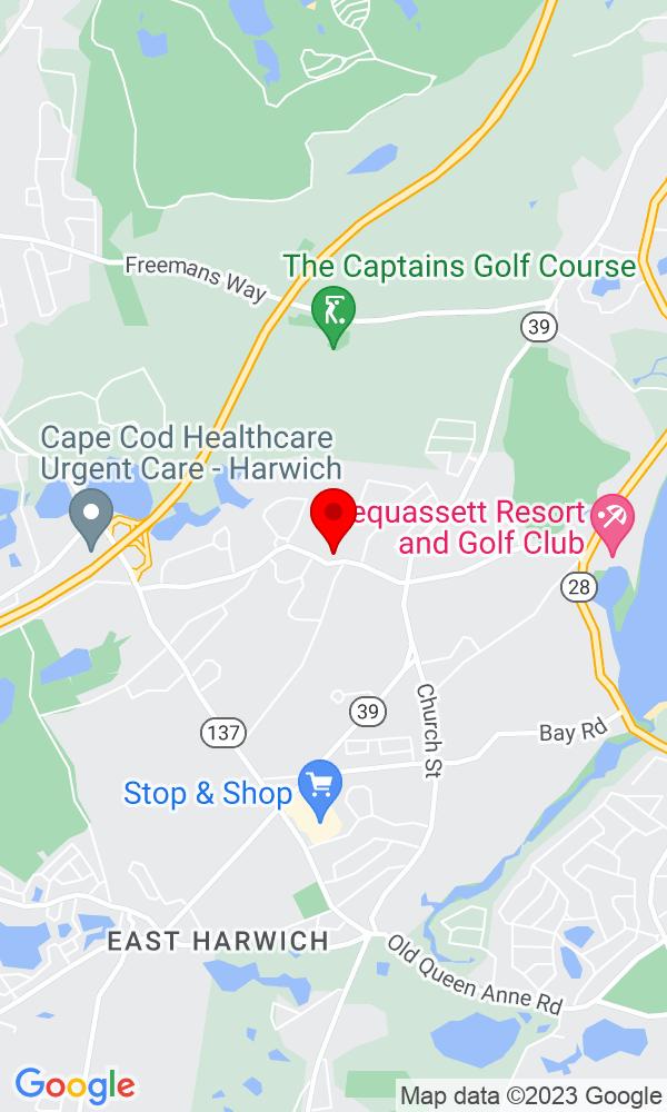 Google Map of172 Pleasant Bay Rd Harwich MA