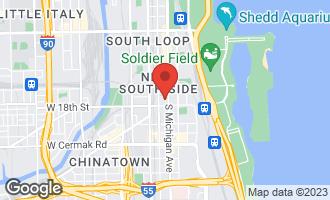 Map of 1720 South Michigan Avenue #1712 CHICAGO, IL 60616