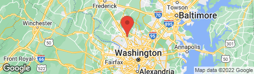 Map of 1722 YALE PLACE ROCKVILLE, MD 20850