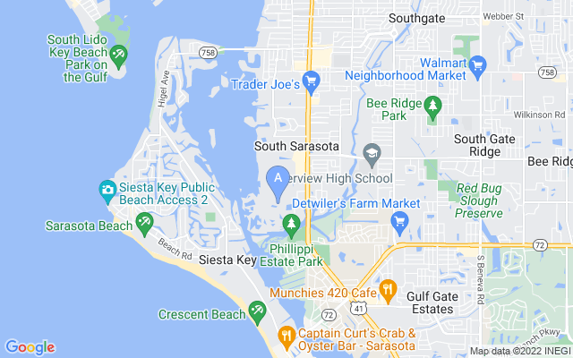 1724 Landings Blvd Sarasota Florida 34231 locatior map