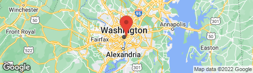 Map of 1724 CAPITOL STREET N NW WASHINGTON, DC 20002