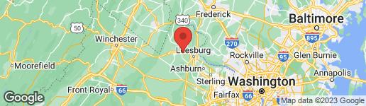Map of 17262 NORTHWOODS PLACE HAMILTON, VA 20158