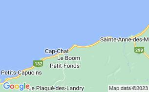 Map of Camping Au Bord De La Mer