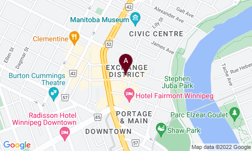 map of The Mitchell Block