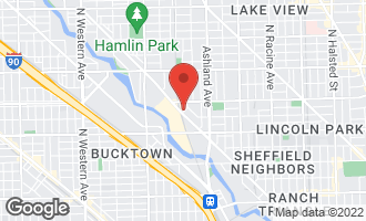 Map of 1730 West Terra Cotta Place L CHICAGO, IL 60614
