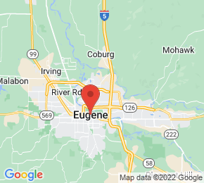 Job Map - 1735 ADKINS ST Eugene, Oregon 97401 US