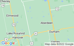 Map of Saugeen Springs RV Park