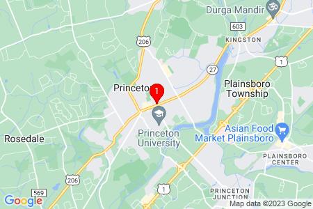 Google Map of 174 Nassau St, Ste 204 Princeton, NJ, 08540
