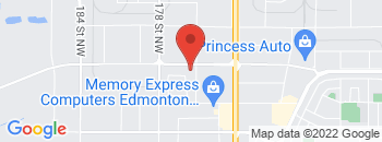 Google Map of 17407-111th+Ave%2CEdmonton%2CAlberta+T5S+0A1