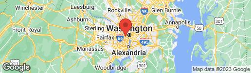 Map of 1742 RHODES STREET N 5-302 ARLINGTON, VA 22201