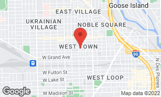 Map of 1743 West Erie Street CHICAGO, IL 60622