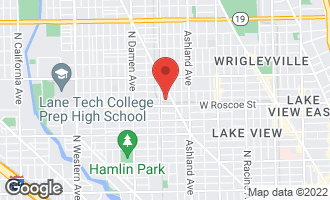Map of 1743 West Newport Avenue CHICAGO, IL 60657