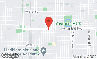 Map of 1745 West Garfield Boulevard #3 CHICAGO, IL 60636
