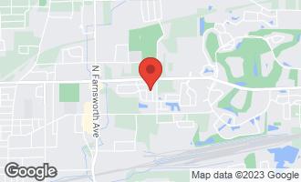 Map of 1747 Briarheath Drive AURORA, IL 60505