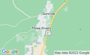 Map of Bend/Sunriver RV Resort