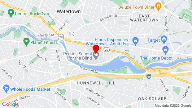 Google Map of 175 Beacon Steet, Watertown, MA 02472