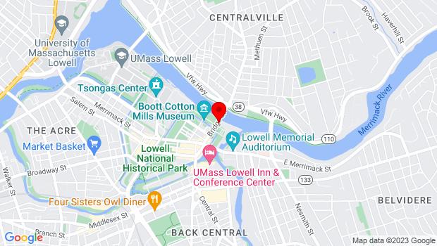 Google Map of 175 Bridge St., Salisbury, MA 01952