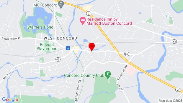 Google Map of 175 Main Street, Ma