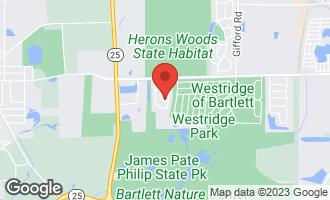 Map of 175 Prescott Drive BARTLETT, IL 60103