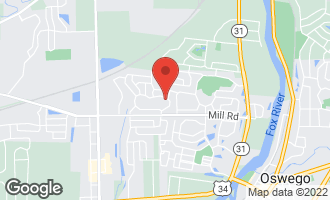 Map of 175 Willowwood Drive North OSWEGO, IL 60543