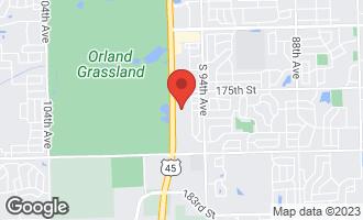 Map of 17535 La Grange Road TINLEY PARK, IL 60487