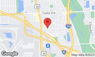 Map of 1754 Pratt Street DES PLAINES, IL 60018