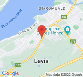 Google Map of 1767+Boul+De+La+Rive-Sud%2CSaint-Romuald%2CQuebec+G6W+5M6