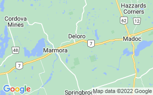 Map of Marmora KOA