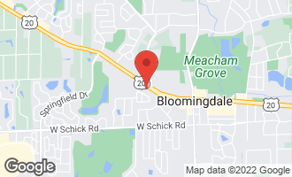 Map of 178 West Lake Street BLOOMINGDALE, IL 60108