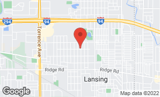 Map of 17858 Chicago Avenue LANSING, IL 60438