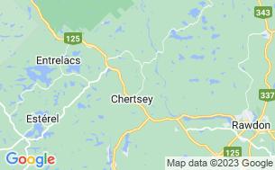 Map of Camping Du Domaine Du Lac Paré